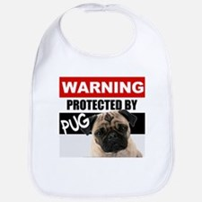 Protected by Pug Bib
