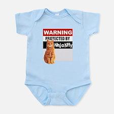 Protected by Ninja Kitty (Ora Infant Bodysuit