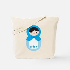 Matryoshka - Blue Tote Bag