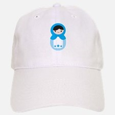 Matryoshka - Blue Baseball Baseball Cap
