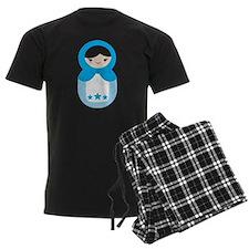 Matryoshka - Blue Pajamas