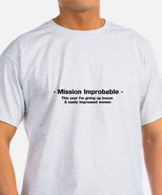 Unique New years resolution T-Shirt