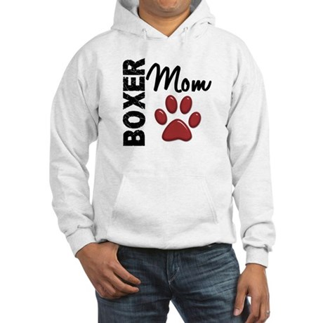 Boxer Mom 2 Hooded Sweatshirt