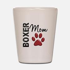 Boxer Mom 2 Shot Glass