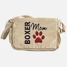 Boxer Mom 2 Messenger Bag