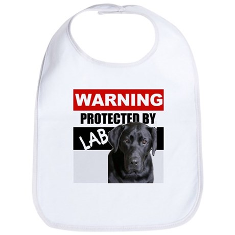 Protected by Black Lab Bib
