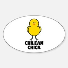 Chilean Chick Sticker (Oval)