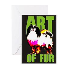 Art Of Fur Greeting Card
