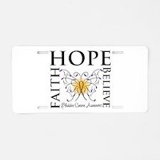 Bladder Cancer Hope Aluminum License Plate