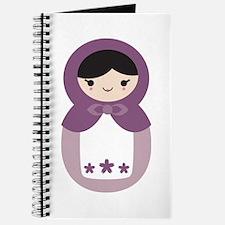 Matryoshka - Purple Journal