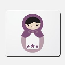 Matryoshka - Purple Mousepad