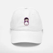 Matryoshka - Purple Baseball Baseball Cap