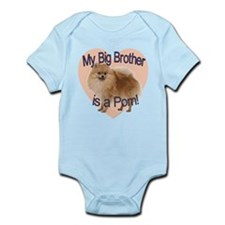 Pomeranian Brother Infant Bodysuit
