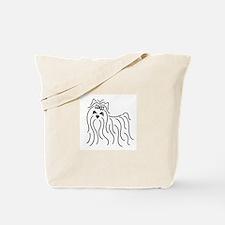 Unique Yorkie Tote Bag
