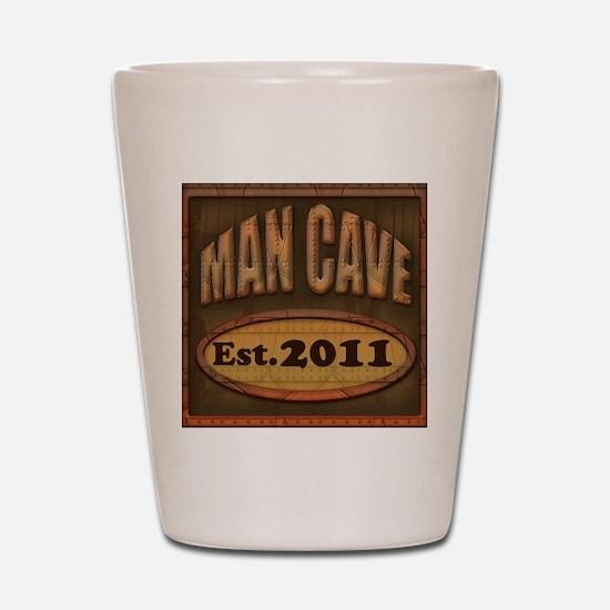 Man Cave Shot Glass