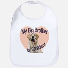 Golden Retriver Brother Bib