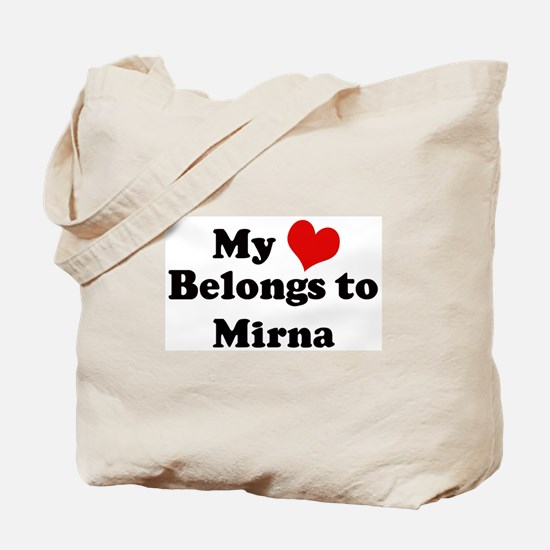 My Heart: Mirna Tote Bag