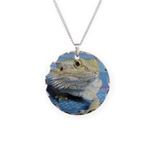 Cute Bearded dragon Necklace