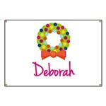 Christmas Wreath Deborah Banner