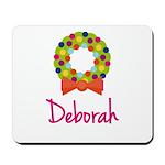 Christmas Wreath Deborah Mousepad
