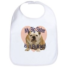 Bulldog Sister Bib