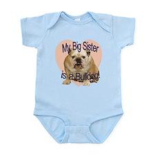Bulldog Sister Infant Bodysuit