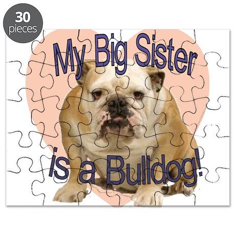 Bulldog Sister Puzzle