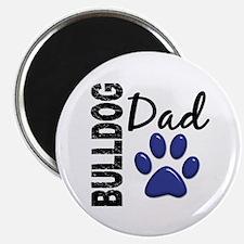 """Bulldog Dad 2 2.25"""" Magnet (100 pack)"""