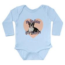 Boston Sister Long Sleeve Infant Bodysuit