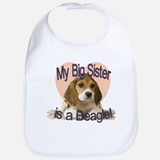 Beagle Sister Bib