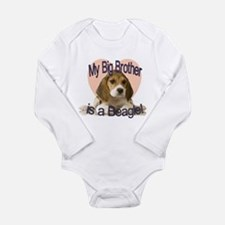 Beagle Brother Long Sleeve Infant Bodysuit