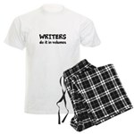 Writers Do It In Volumes Men's Light Pajamas