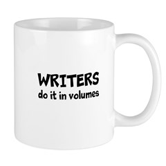 Writers Do It In Volumes Mug