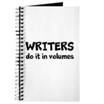 Writers Do It In Volumes Journal