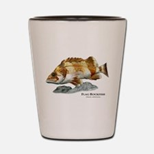 Flag Rockfish Shot Glass