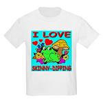 I Love Skinny-Dipping Kids T-Shirt