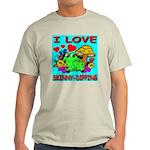 I Love Skinny-Dipping Ash Grey T-Shirt