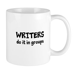 Writers Do It In Groups Mug