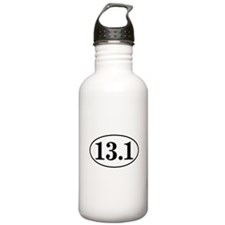 13.1 Half Marathon Runner Ova Water Bottle