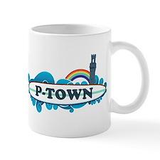 Provincetown MA - Surf Design. Small Mug