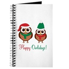 """Happy Owlidays"" Journal"