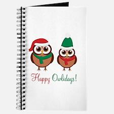 """""""Happy Owlidays"""" Journal"""