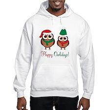 """Happy Owlidays"" Hoodie"