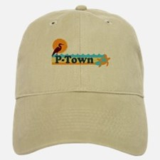 Provincetown MA - Beach Design. Baseball Baseball Cap