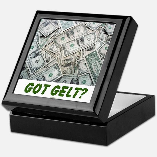 Got Gelt? Jewish Keepsake Box
