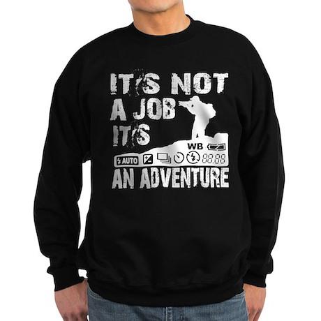 it's not ajob it's an adventu Sweatshirt (dark)