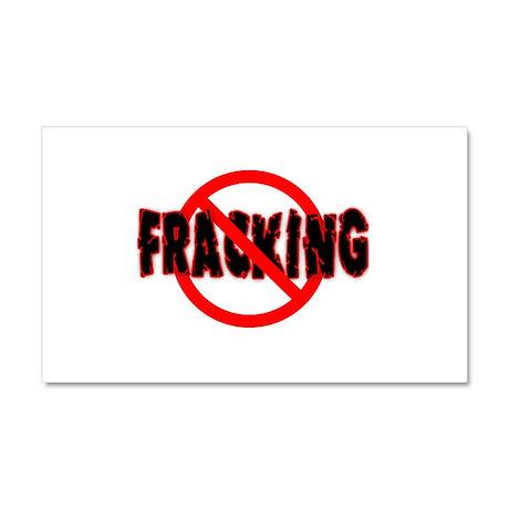 FRACKING Say NO to Fracking Car Magnet 20 x 12