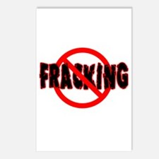 FRACKING Say NO to Fracking Postcards (Package of