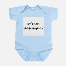 Can't talk, backpropogating Infant Bodysuit