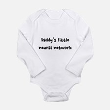 Daddy's little neural network Long Sleeve Infant B